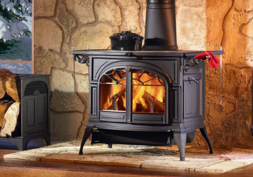Печь-камин Vermont Castings Defiant 2 in 1 Классич.черный - Classic Black
